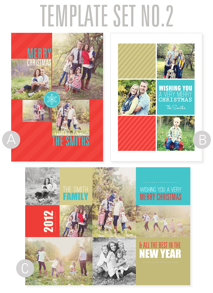 Free Holiday Card Templates - Free holiday card template