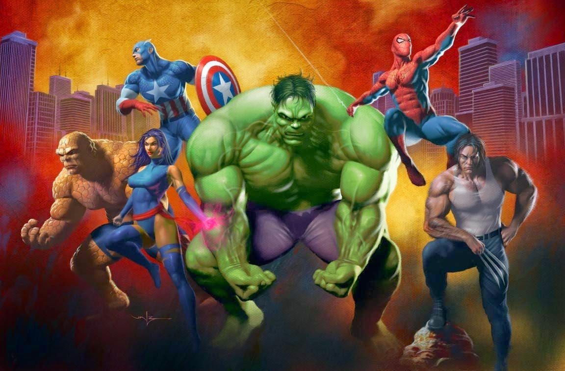 marvel heroes and avengers hd wallpapers