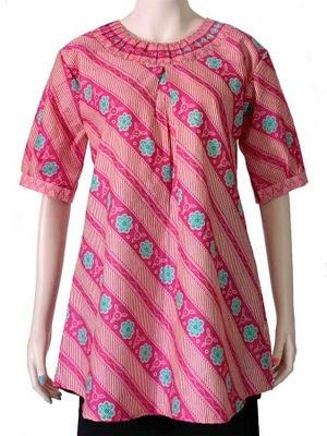 Gambar blouse batik