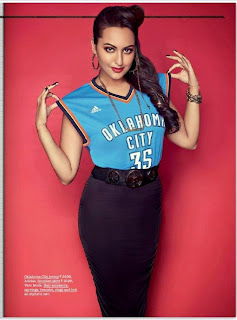 Sonakshi Sinha going gangsta for The Juice Magazine