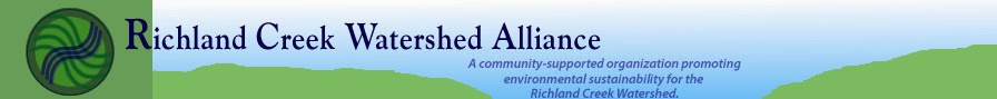 Richland Creek Watershed Alliance blog
