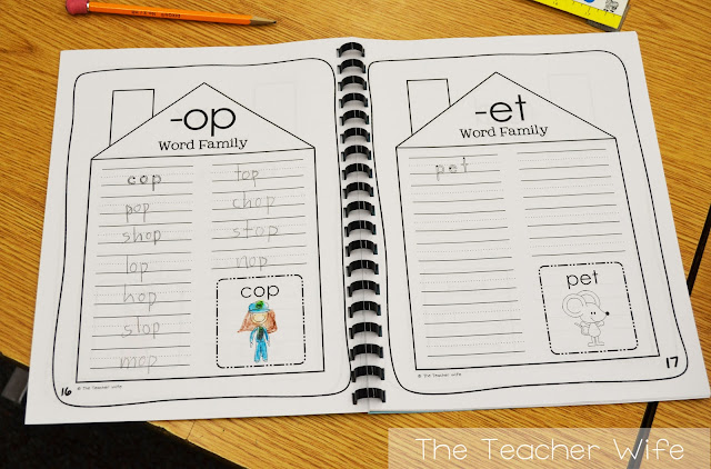 image relating to Printable Word Family Books called the instructor spouse: Phrase Family members, Amount Traces, and Our Elf!
