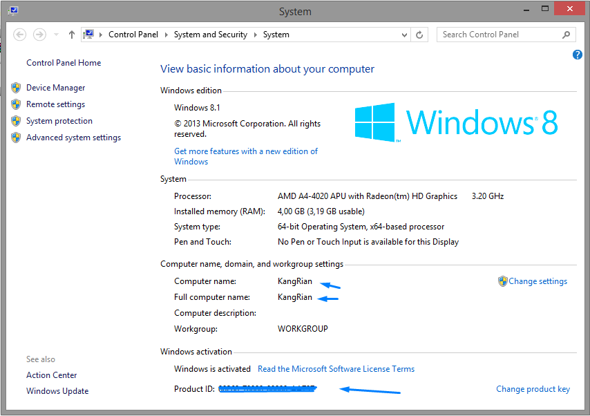 Windows 8.1 ACTIVE!