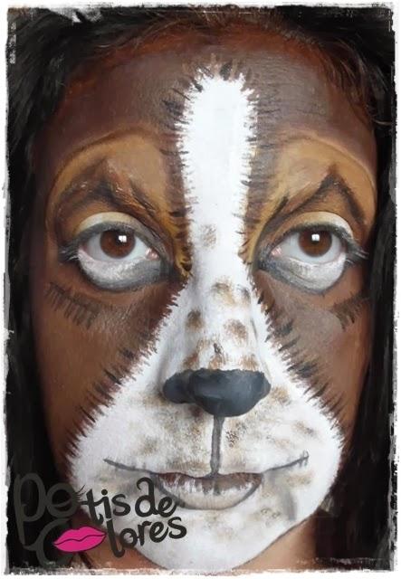 maquillaje perro