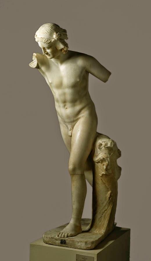 Hypnos Roman copy of Hellenistic original  (original 150-125 A.C.) Museo Nacional del Prado, Madrid