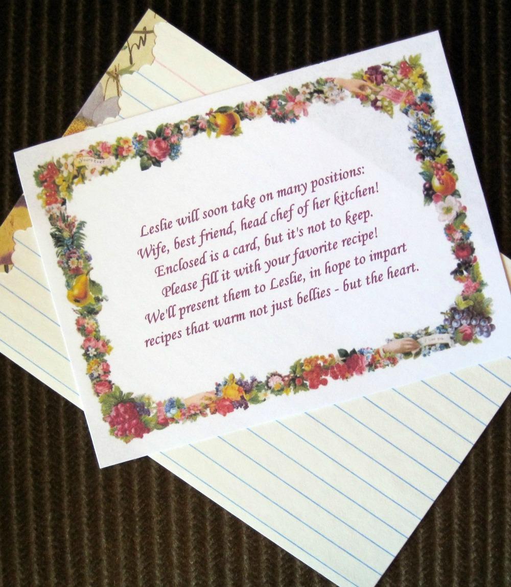 Bridal Shower Tea Party: Invitaions