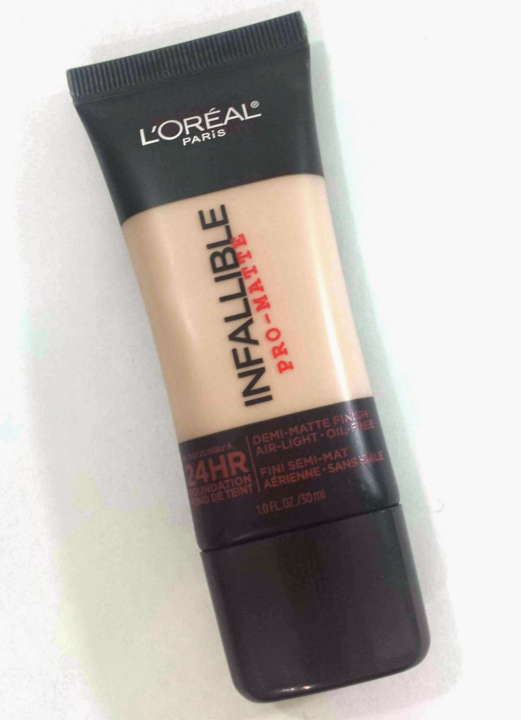Living and Loving Makeup: L'Oreal Infallible Pro-Matte Foundation ...