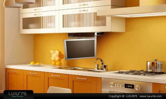D nde ubicar la televisi n en la cocina for Como instalar una cocina integral pdf
