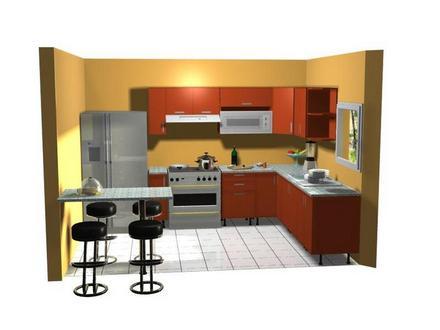 Dise o de cocinas en 3d fotorealismo planos dise o de for Diseno cocinas 3d gratis espanol