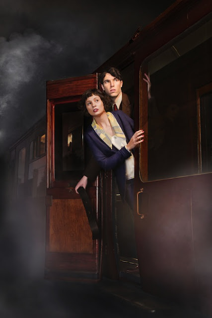 Tuppence Middleton and Tom Hughes in The Lady Vanishes