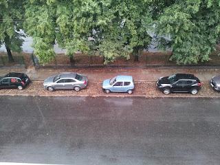 Deszcz w Szczecinie, Eska 2013