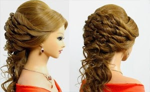 Hairstyles for medium long hair 23-05-2015 Bridal wedding hairstyles