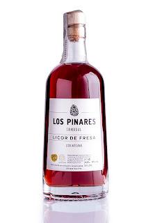 Licor de Fresa Los Pinares