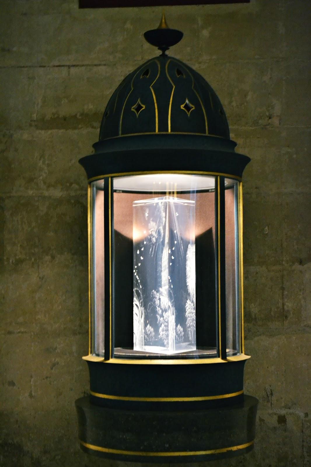 memorial glass prism