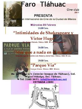 Cine club Faro Tláhuac 2011 PROGRAMA FEBRERO