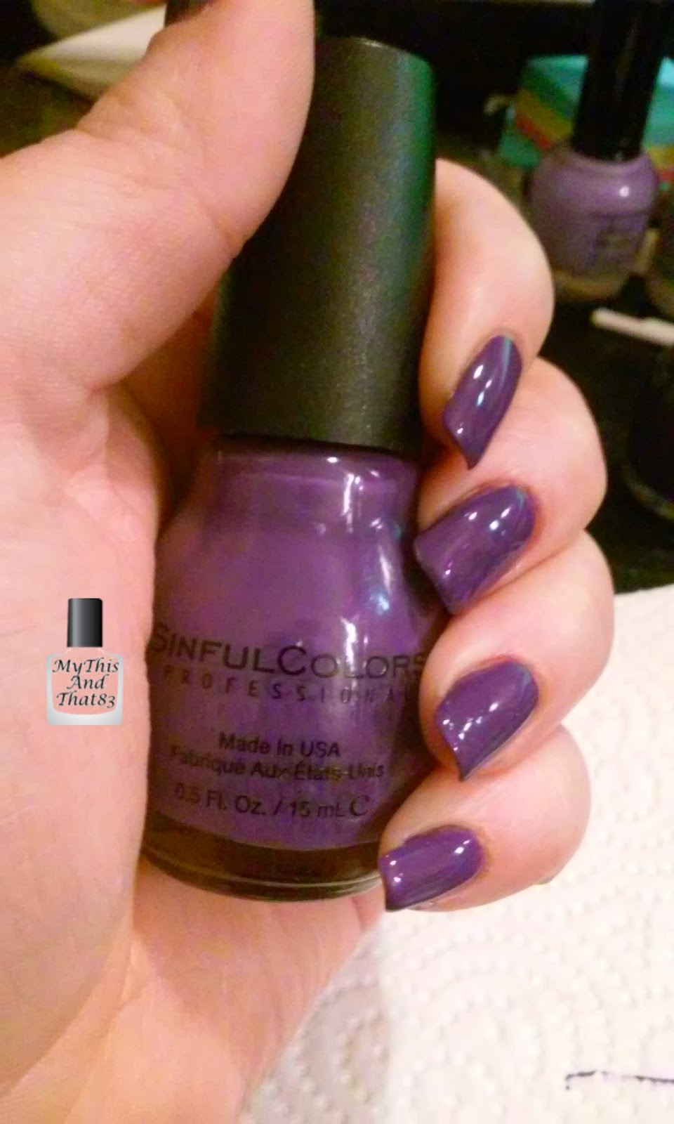 Sinful Colors Amethyst