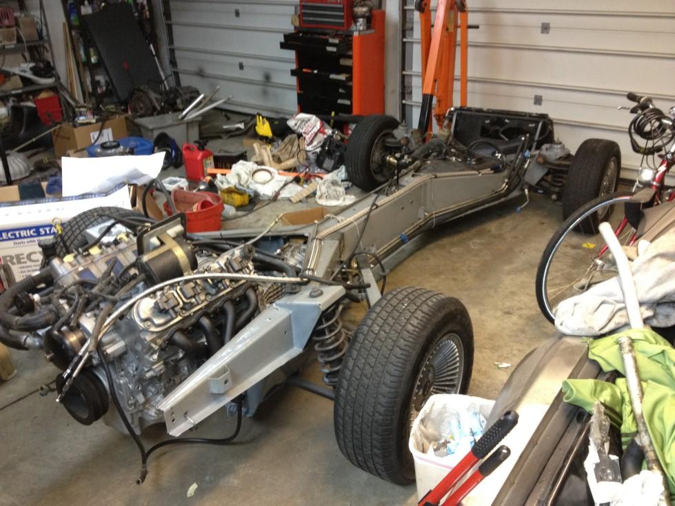 Body/Frame Rejoining | LS1 DeLorean