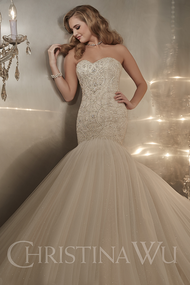 Sofisticados vestidos de novias | Colección Christina Wu