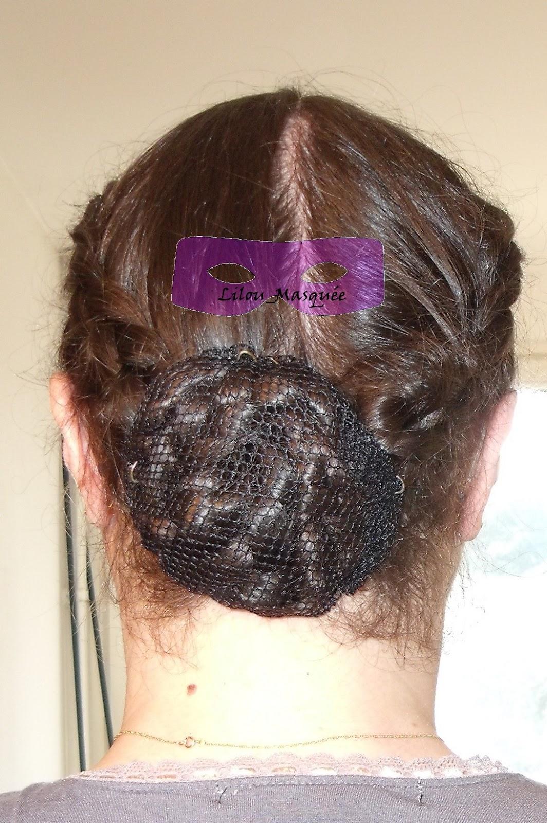 Fabuleux 1001 coiffures: Tuto coiffure et accessoire : Chignon tressé avec  TB99
