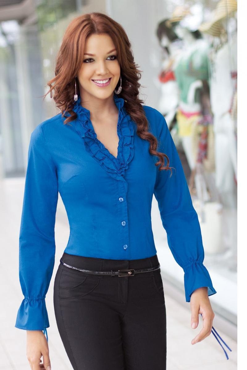 Blusas en chalis blusas de fiestas - Colores de moda ...