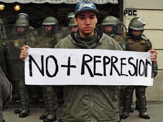Mary+081 Durante la semana de Navidad se aprobó la Ley Gubernamental que criminaliza las manifestaciones sociales
