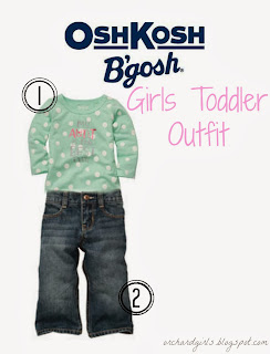 Girls Toddler Outfit from #OshKoshBGosh