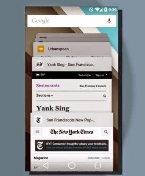 Tahukah Anda: cara kerja multitasking Android dan perubahannya di Android L