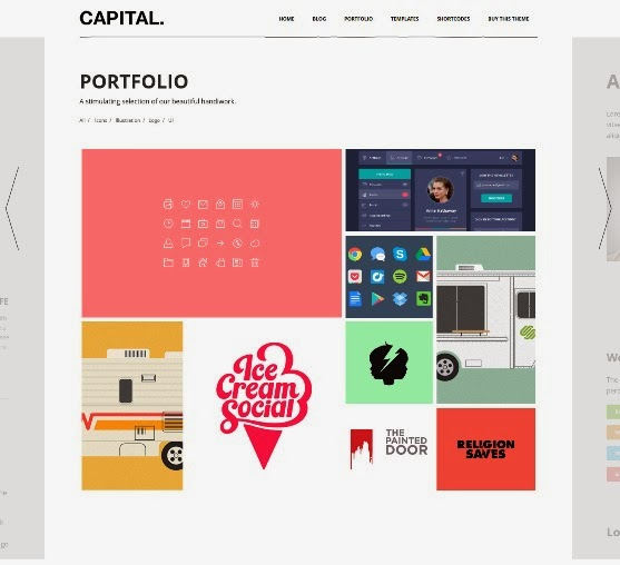 WP Capital Responsive Creative WordPress Theme