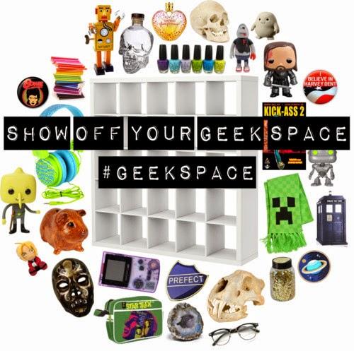 Show off your geek space #Geekspace: April Sprinkles