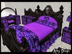 Mina harker como decorar una habitaci n g tica for Cama gotica