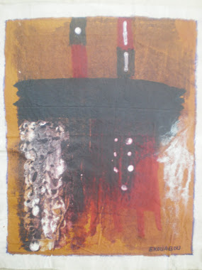 UNION SACREE,2011,40x30 Cm,acrylic on canvas