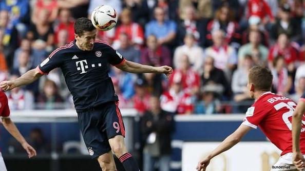 Mainz 0-3 Bayern Munich, Lewandowski Tambah Dua Koleksi Goool!