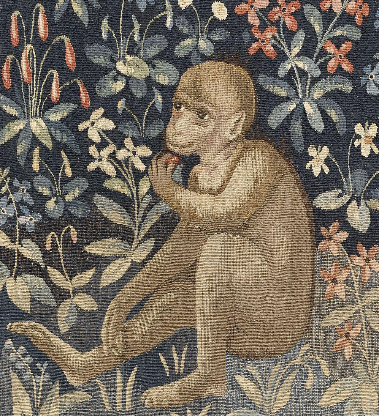 Histoire des arts la dame la licorne la vue tapisserie laine et soie de 3 12 m x 3 30 m - Tapisserie dame a la licorne ...