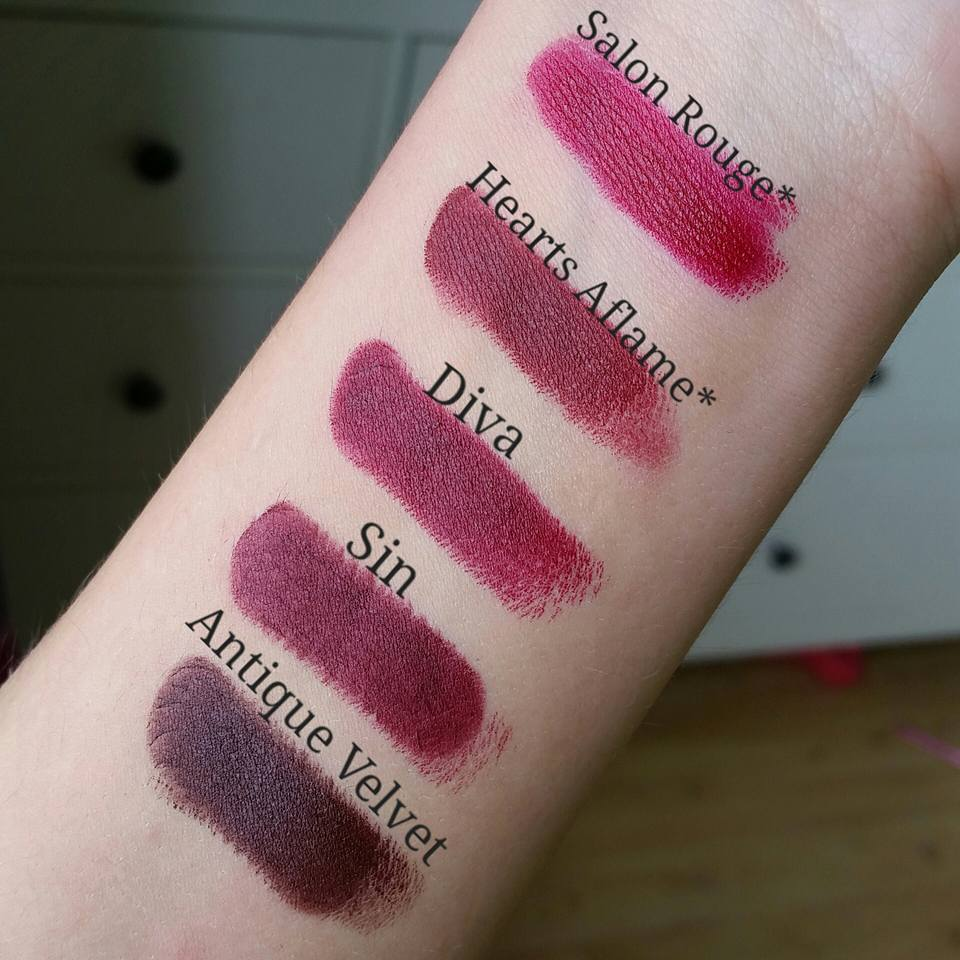 Makeupmadness107byelina mac lipsticks oranges reds - Mac cosmetics lipstick diva ...