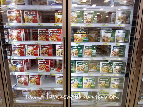 Hot Pockets and Lean Pockets store