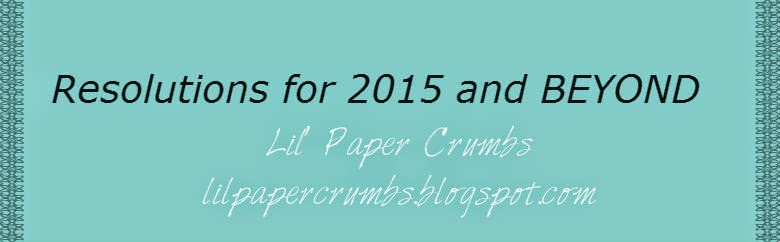 Resolutions for Lil' Paper Crumbs