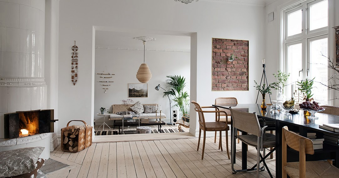 Decordemon Delightful Swedish Apartment With Charming Decor