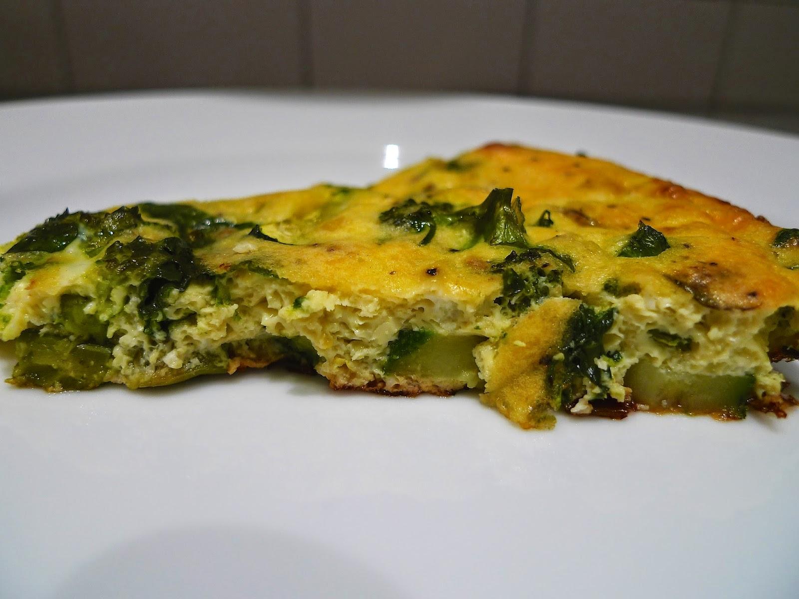Spring veggie breakfast pizzas