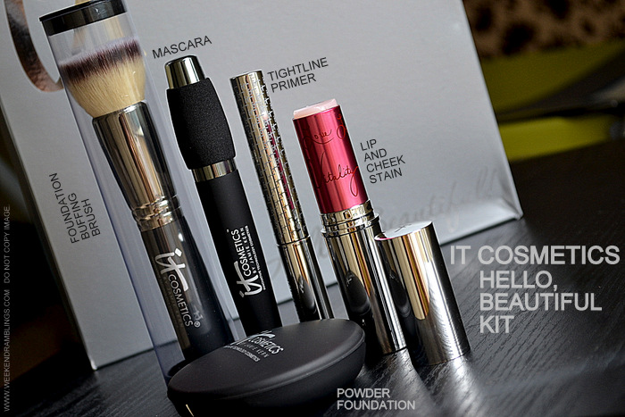 It Cosmetics 5 Piece Antiaging Color Collection QVC Exclusive Indian Beauty Makeup Blog Photos Reviews