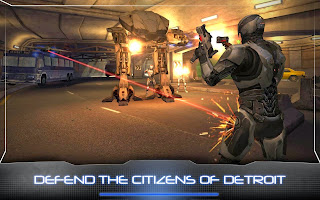 Mobile Android game RoboCop 2014 - screenshots. Gameplay RoboCop 2014
