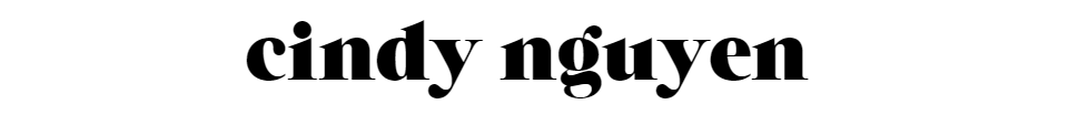 blog – cindy nguyen