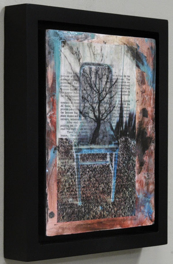collage painting by Sandra Duran Wilson