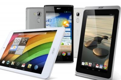 Ini Dia Smartphone dan Tablet Baru Acer
