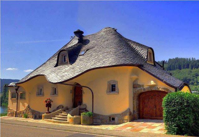 Дизайна на един покрив, ли къща от приказките