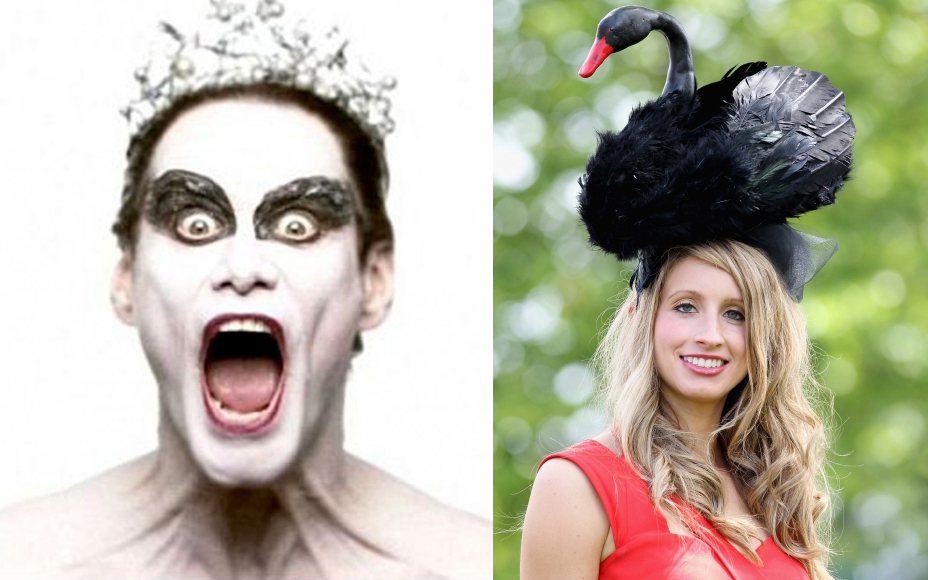 The Black Swan Fascinator