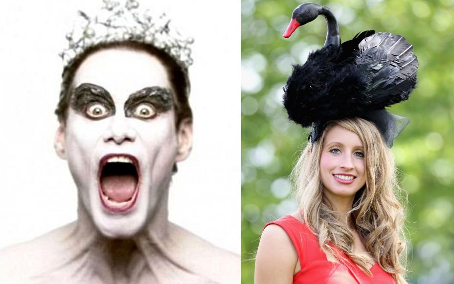 The Black Swan Fascinator