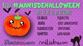 Reto Manis de Halloween