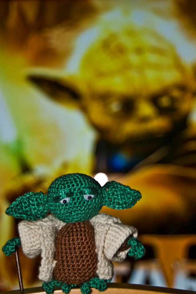 Amigurumi Yoda Patron : Mis amigurumis: Yoda
