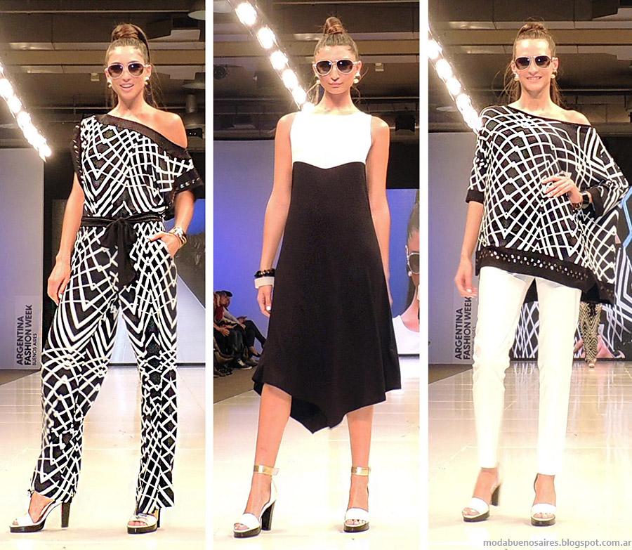 Adriana Costantini primavera verano 2015. Moda vestidos, monos y blusas primavera verano 2015.