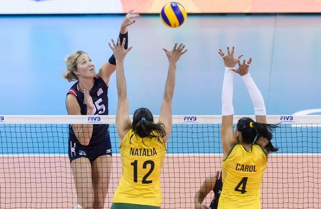 Brasil perde para EUA e vê rivais serem campeãs do Grand Prix